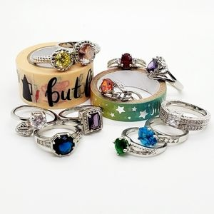 🆕️11 rings•from jewelry candles🔥asst. sizes•Look